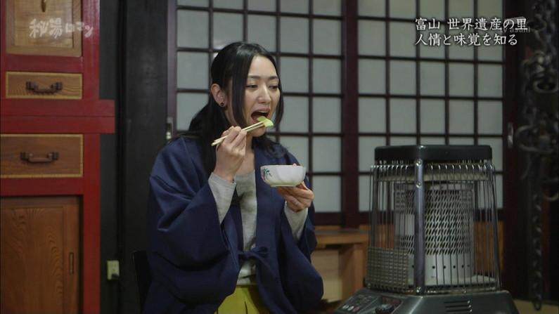 【疑似フェラキャプ画像】フェラしてる時の顔にそっくりな顔して食レポする女子アナ達w