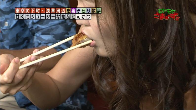 【疑似フェラキャプ画像】フェラしてる時の顔にそっくりな顔して食レポする女子アナ達w 11