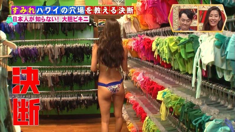 【お尻キャプ画像】タレント達の水着が食い込んだぶりぶりなお尻がエロすぎww 07