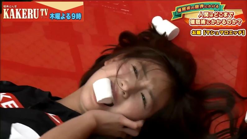 【逝き顔キャプ画像】テレビ放送中に快感が絶頂に達してしまったタレント達ww 11