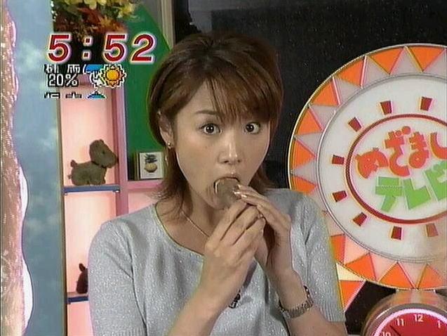 【疑似フェラキャプ画像】食レポの時そんなやらしい顔して一体何考えてるんでしょうね?ww 11