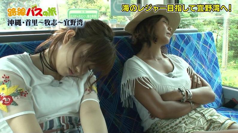 【寝顔キャプ画像】美人タレント達の無防備な寝顔がエロすぎww 03