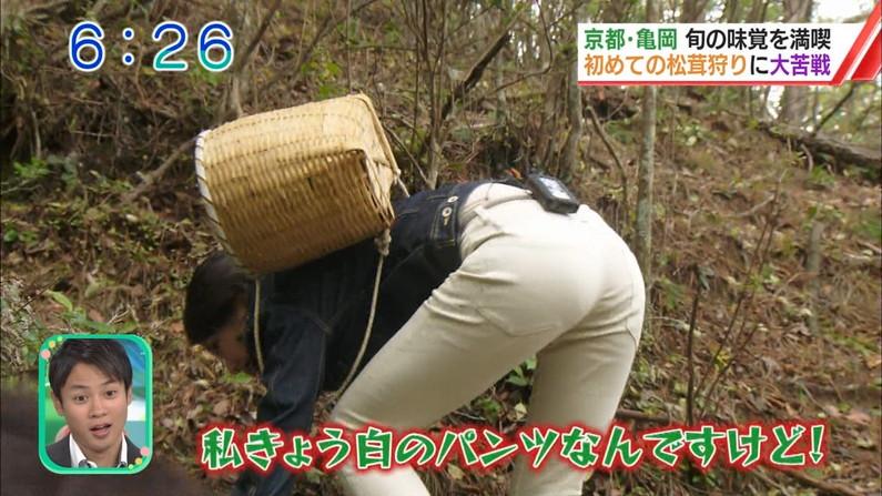 【お尻キャプ画像】ピタパン履いたタレント達がパンツラインまで見えちゃってるw 14