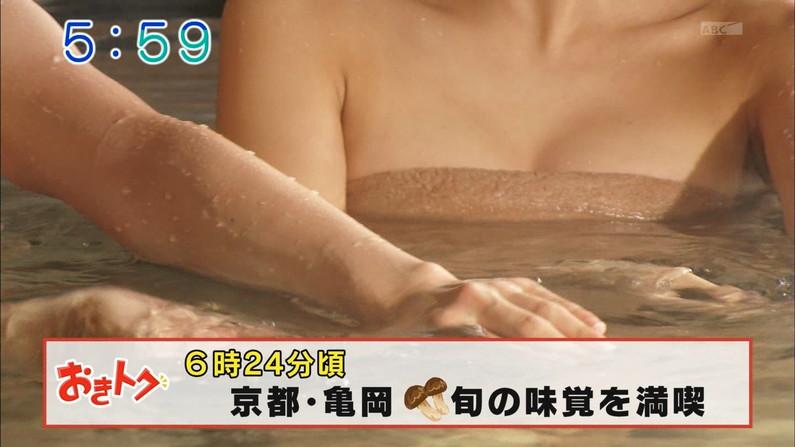【温泉キャプ画像】やっぱり美人タレント達の入浴姿はいつ見てもエロいなww 15