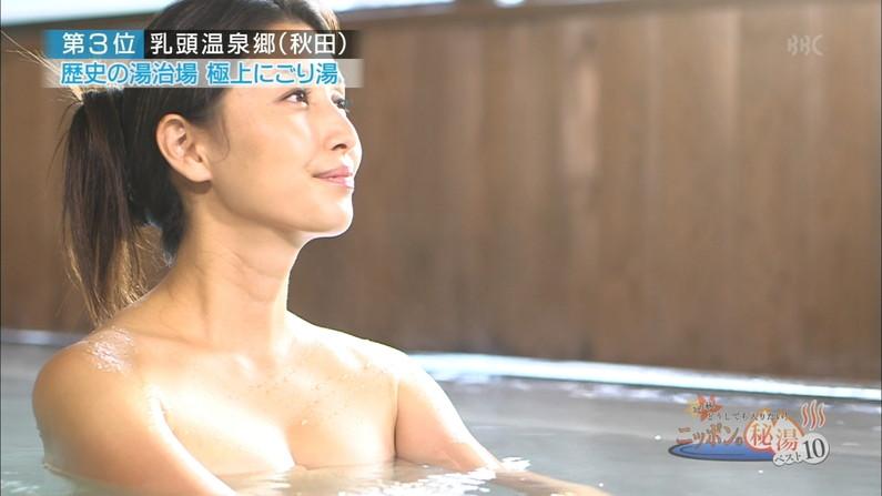 【温泉キャプ画像】やっぱり美人タレント達の入浴姿はいつ見てもエロいなww 22