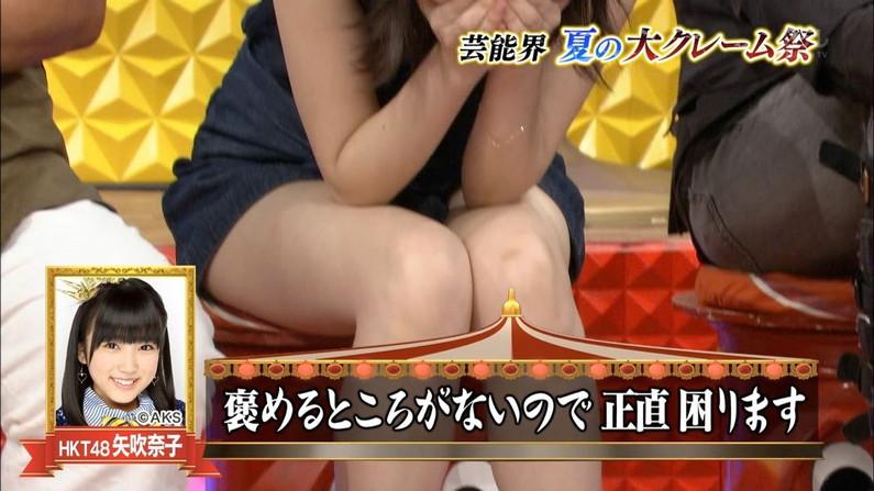 【美脚キャプ画像】タレント達のスラット伸びる美脚がエロくてたまらんw 14