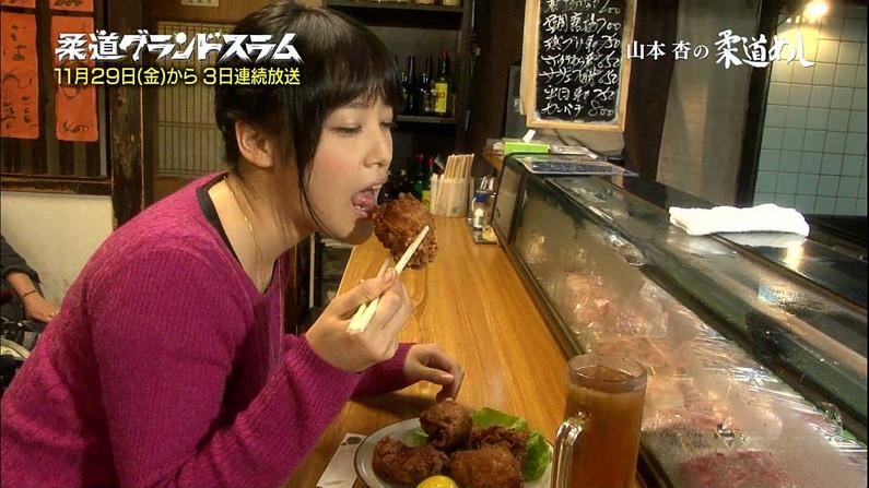 【疑似フェラキャプ画像】食レポしてるタレント達の顔がフェラ顔に見えてしょうがないw