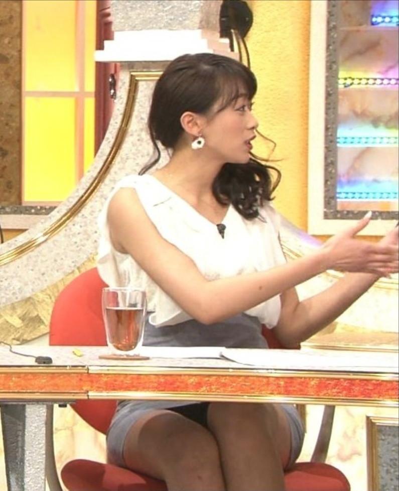 【パンチラキャプ画像】ミニスカートの中の方まで見えちゃってるタレント達w 07