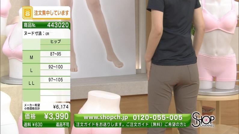 【お尻キャプ画像】テレビでパンツ線見えててもパンツ自体は見えてないからいいらしいぞw 19