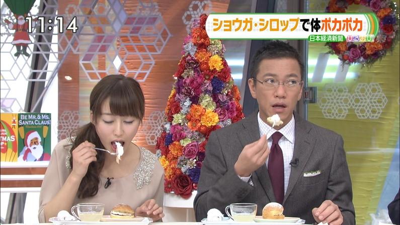 【疑似フェラキャプ画像】なぜいつもそんなやらしい顔して食レポしてるんでしょうね?w 09