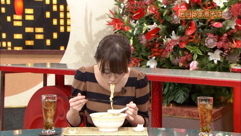 【疑似フェラキャプ画像】なぜいつもそんなやらしい顔して食レポしてるんでしょうね?w 14