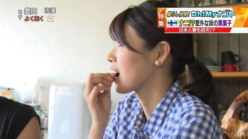 【疑似フェラキャプ画像】狙ってなのかやたらエロい顔して食レポするタレント達w 11