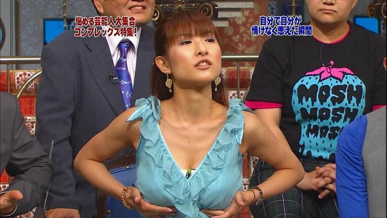 【脇汗キャプ画像】女性タレントの一番嫌がるハプニングが脇汗らしいぞw 04