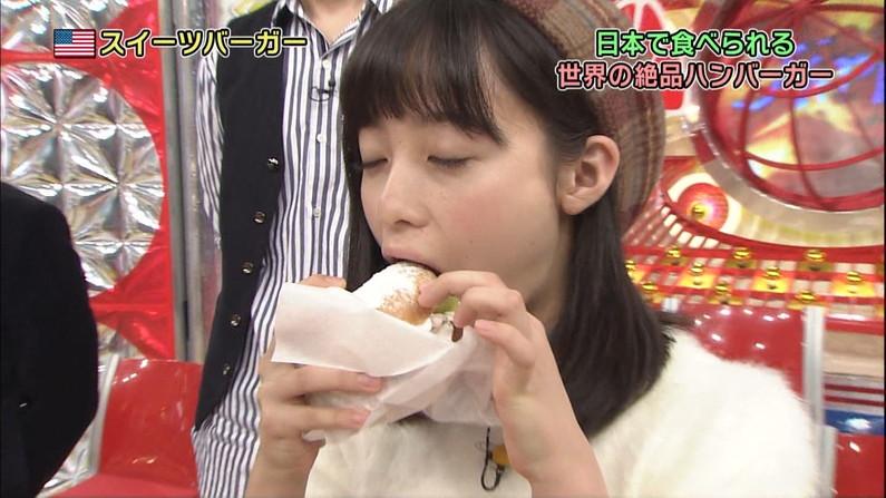 【疑似フェラキャプ画像】食レポしてるタレント達ってちょっとフェラ顔に寄せて来てるよなw 14