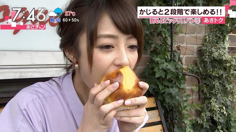 【疑似フェラキャプ画像】食レポする表情がエロすぎるタレント達w 05