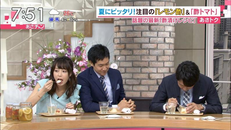 【疑似フェラキャプ画像】食レポする表情がエロすぎるタレント達w 06