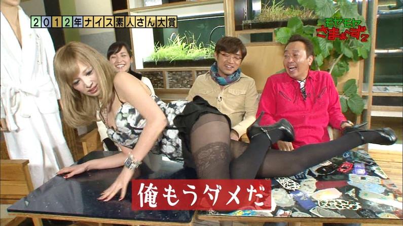【太ももキャプ画像】タレント達のテレビで披露したムチムチとしたエロくて綺麗な太もも!! 14