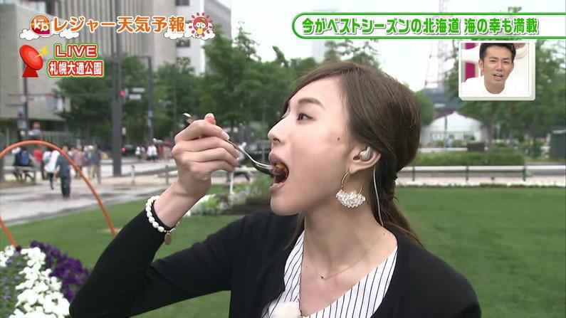 【疑似フェラキャプ画像】タレント達が食レポしてるんだけど口元がエロすぎるww 05