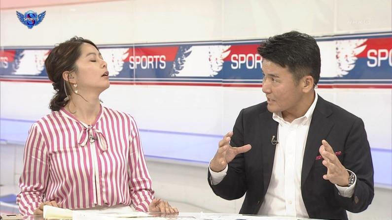 【イキ顔キャプ画像】テレビ放送中に感じちゃってるタレント達w 12