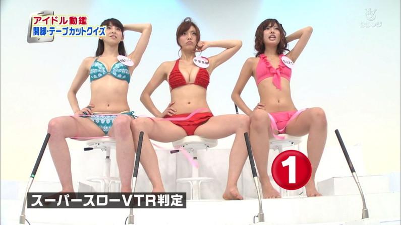 【開脚キャプ画像】テレビに映ったタレント達の際どいお股おっぴろげシーンww 07