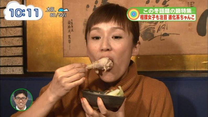 【疑似フェラキャプ画像】タレントの皆さん、食レポの時こんなエロい顔してるんですよw 09