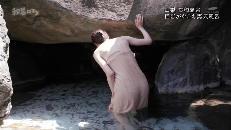 【温泉キャプ画像】テレビでしか見れない美女の入浴シーンってやっぱエロいよなw 06