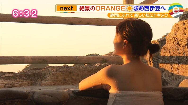 【温泉キャプ画像】テレビでしか見れない美女の入浴シーンってやっぱエロいよなw 08