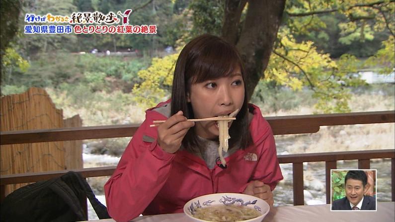 【疑似フェラキャプ画像】あざとくフェラ顔しながら食レポするタレント達w 11