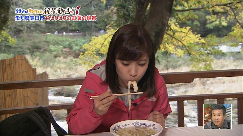 【疑似フェラキャプ画像】あざとくフェラ顔しながら食レポするタレント達w 15