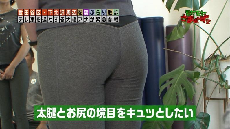 【お尻キャプ画像】ピッタリムチムチなピタパン履いたお尻汚タレント達w 12