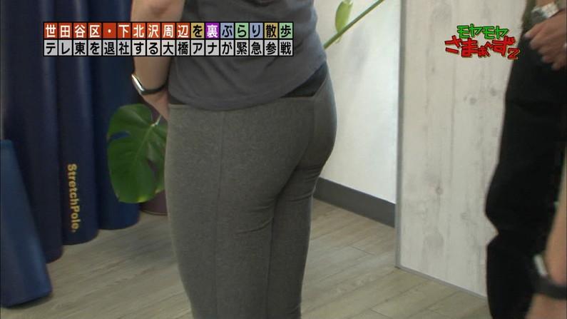 【お尻キャプ画像】ピッタリムチムチなピタパン履いたお尻汚タレント達w 17