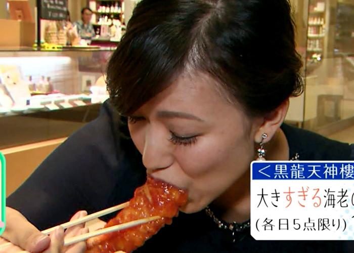 【疑似フェラキャプ画像】タレント達がやらしい顔しながら食レポする様子がエロすぎww 11