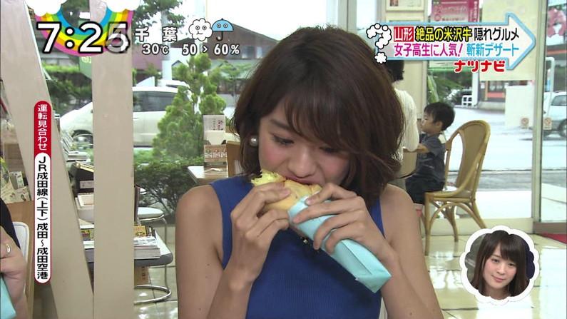 【疑似フェラキャプ画像】タレント達がやらしい顔しながら食レポする様子がエロすぎww 13