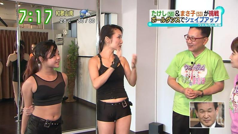 【へそキャプ画像】テレビに映ったタレント達のセクシーボディーww 10