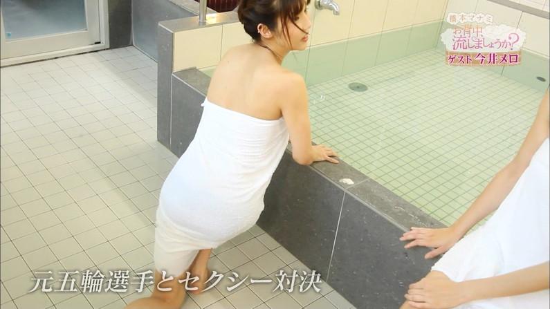 【温泉キャプ画像】温泉レポでバスタオル透けそうになってないか?ww 01
