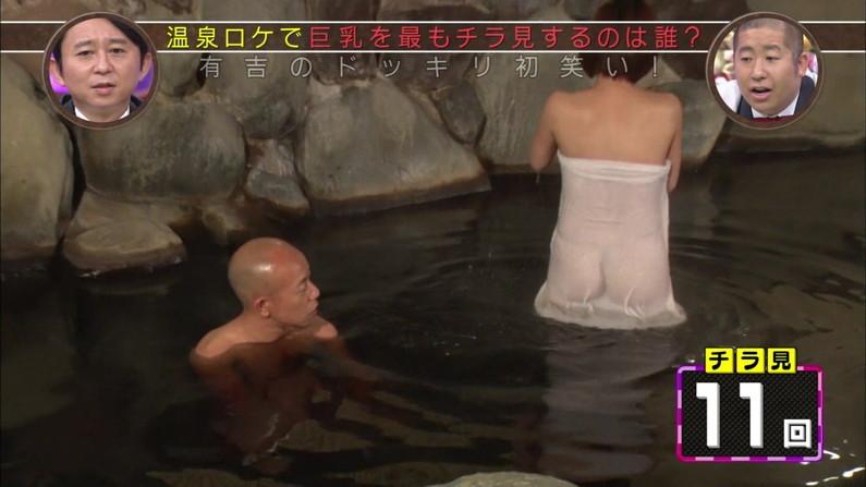 【温泉キャプ画像】温泉レポでバスタオル透けそうになってないか?ww 05
