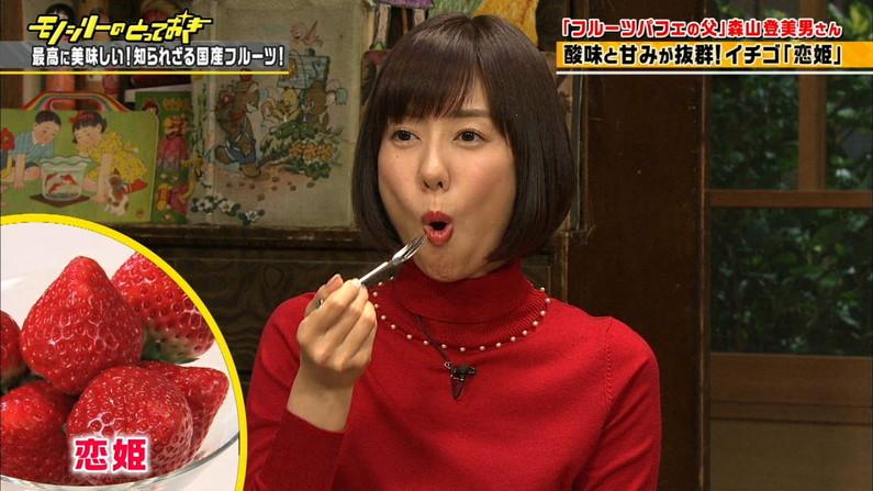 【疑似フェラキャプ画像】食レポしてるタレント達の顔がエロくてムラムラしてくるんだがw 13