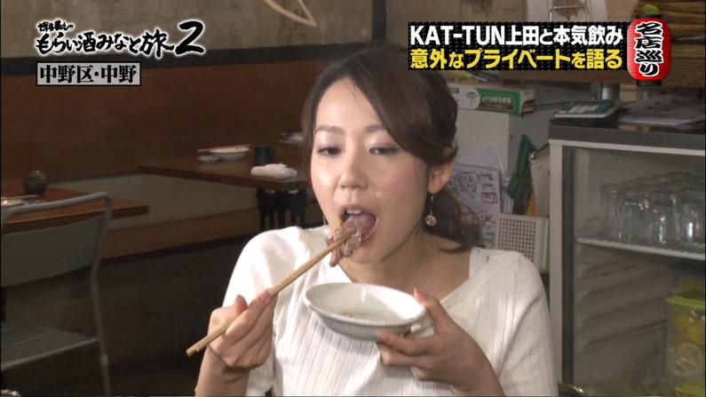 【疑似フェラキャプ画像】食レポしてるタレント達の顔がエロくてムラムラしてくるんだがw 14