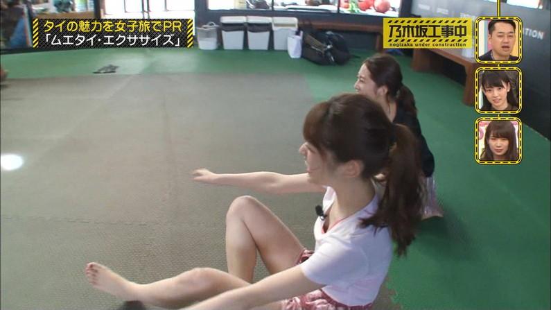 【足裏キャプ画像】タレント達のこんな綺麗な足の裏で足こきして欲しくならない?w 10