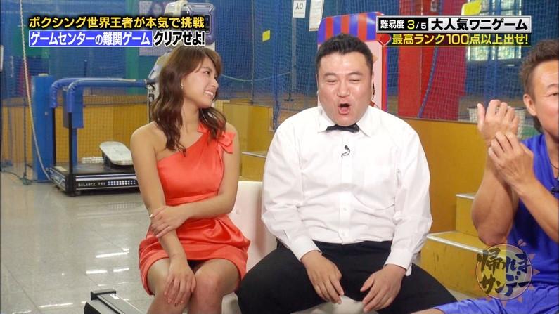 【パンチラキャプ画像】スカートの中身ががっつり見えちゃってるタレント達ww 09