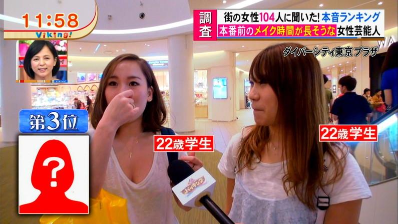 【胸ちらキャプ画像】テレビでガッツリ胸ちらしてる美女達のオッパイエロすぎw 10