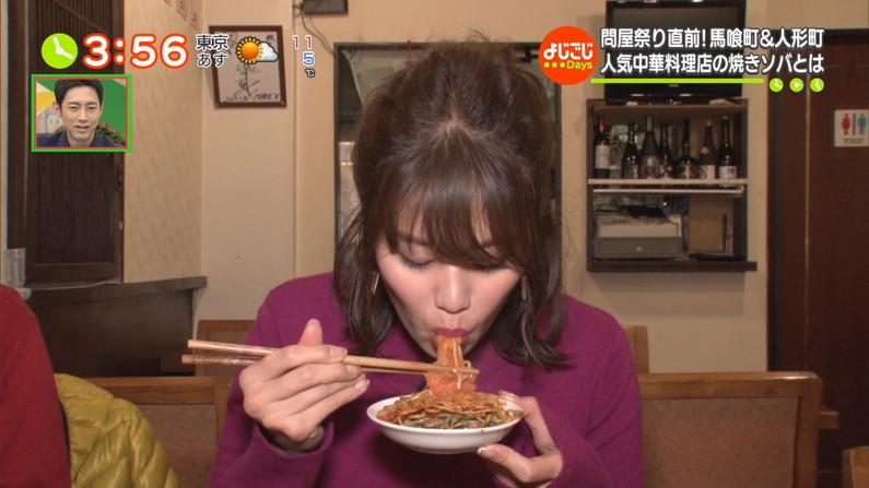 【疑似フェラキャプ画像】このタレント達はなんてやらしい顔しながら食レポしてるんだww 12