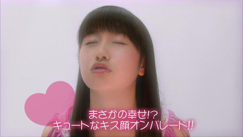 【キスキャプ画像】思わず画面越しでもキスしたくなるようなタレント達の可愛いキス顔w 05