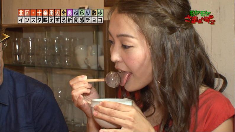 【疑似フェラキャプ画像】思わずムラムラさせるような食レポするタレント達w 24
