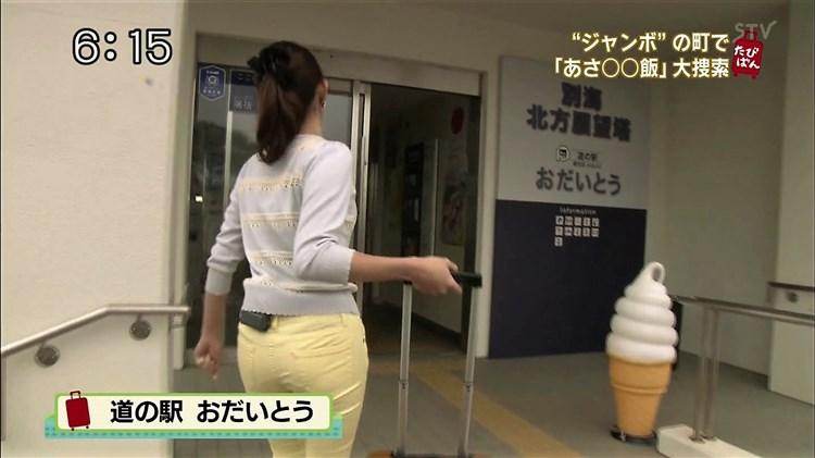 【お尻キャプ画像】タレント達のピタパン履いたぶりぶりなお尻がエロすぎw 11
