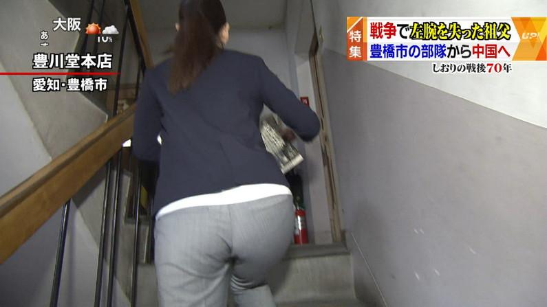 【お尻キャプ画像】タレント達のピタパン履いたぶりぶりなお尻がエロすぎw 15