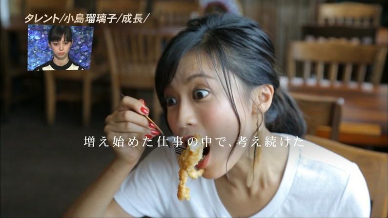 【疑似フェラキャプ画像】こんなエロい顔して食レポしてたらフェラしてもらいたくなりますよねw 24