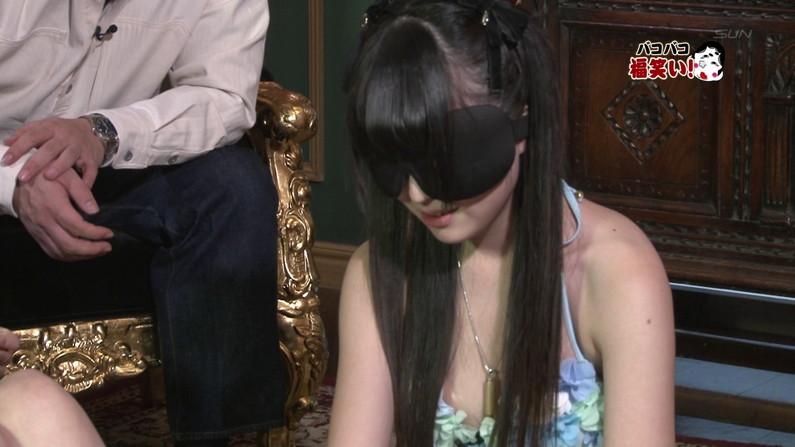 【お宝キャプ画像】ケンコバのバコバコTVで「水着美女の身体で福笑い」とか言う企画やってたぞw 23