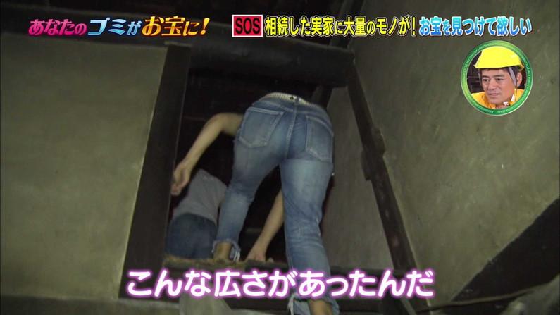 【お尻キャプ画像】パンツラインまでくっきり見えちゃってるタレント達のエロいお尻w 06
