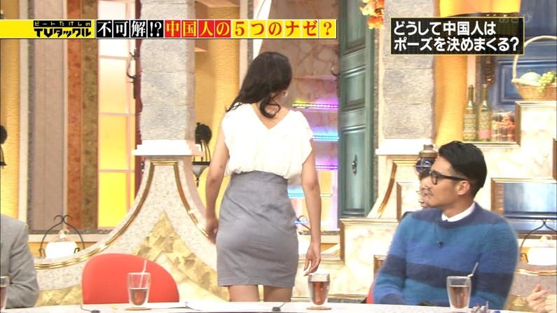 【お尻キャプ画像】パンツラインまでくっきり見えちゃってるタレント達のエロいお尻w 13